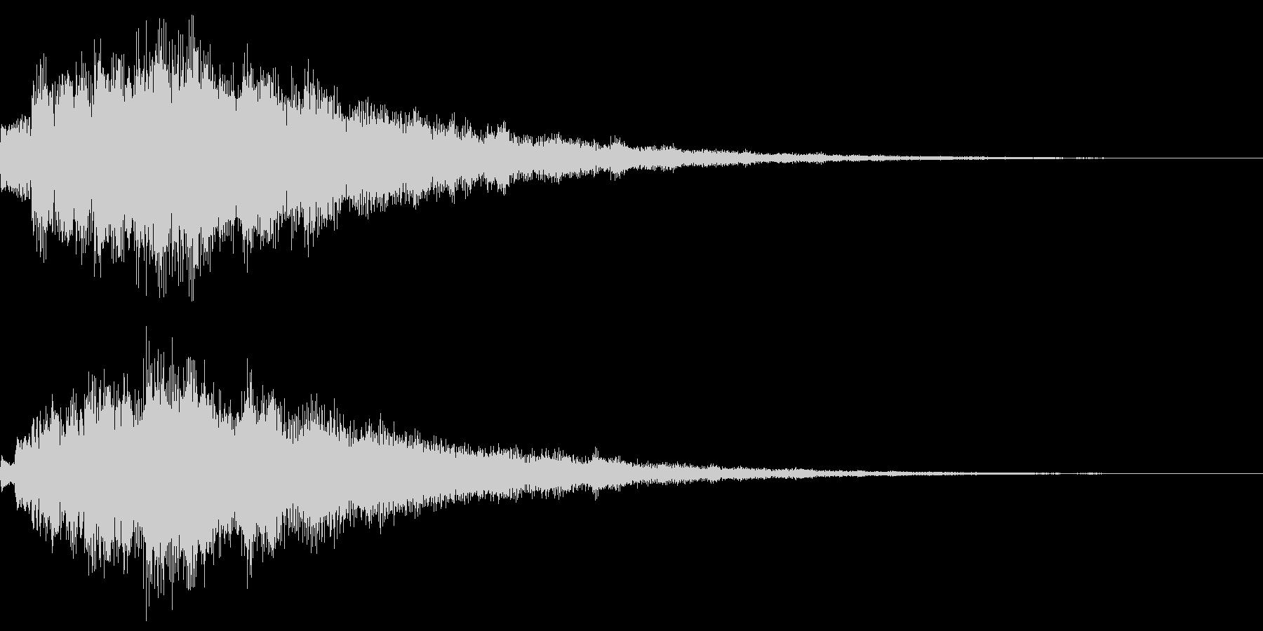 キラキラ(変身・アイテム獲得・魔法)の未再生の波形