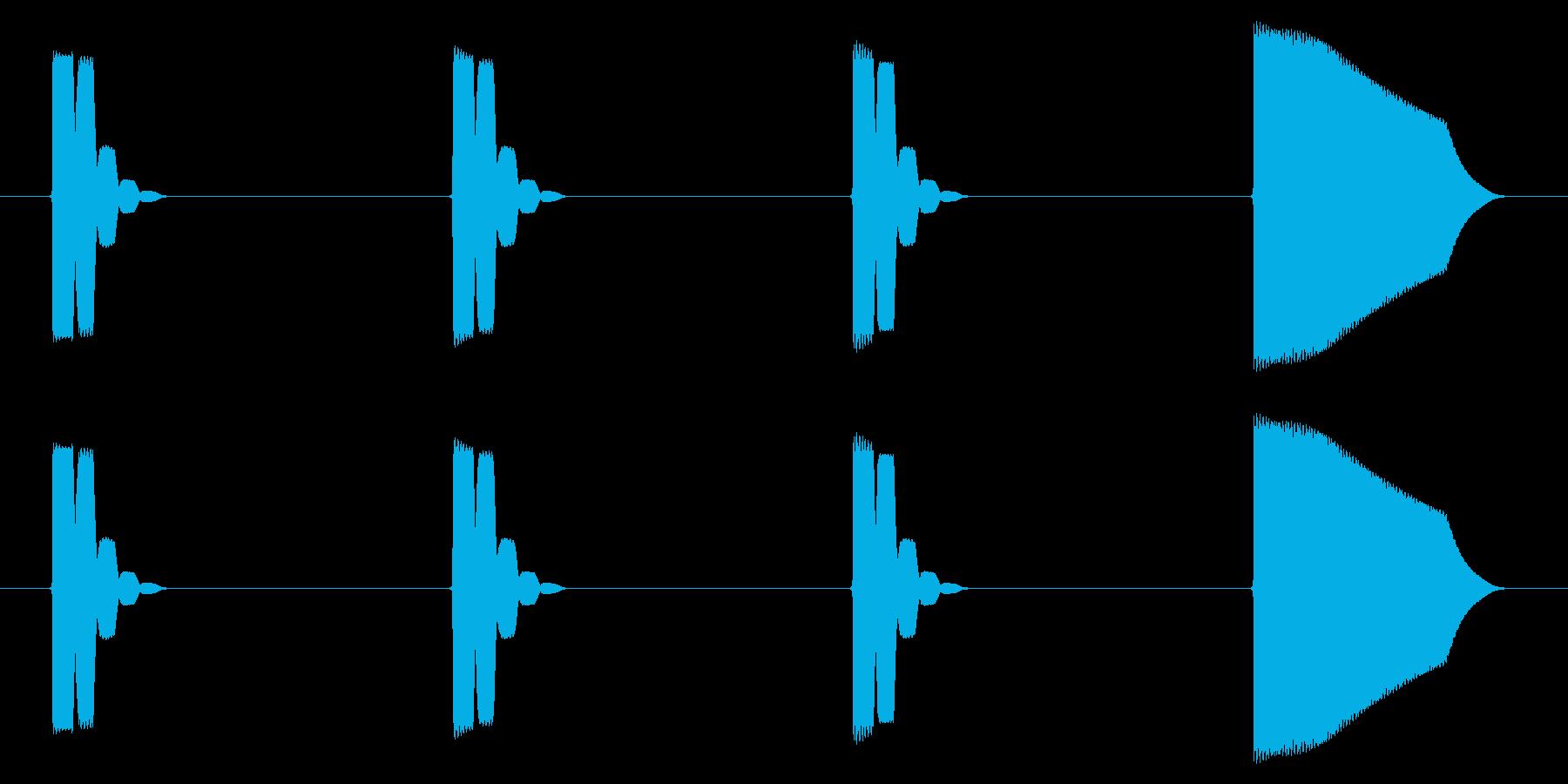 GB レースゲーム01-07(カウントダの再生済みの波形