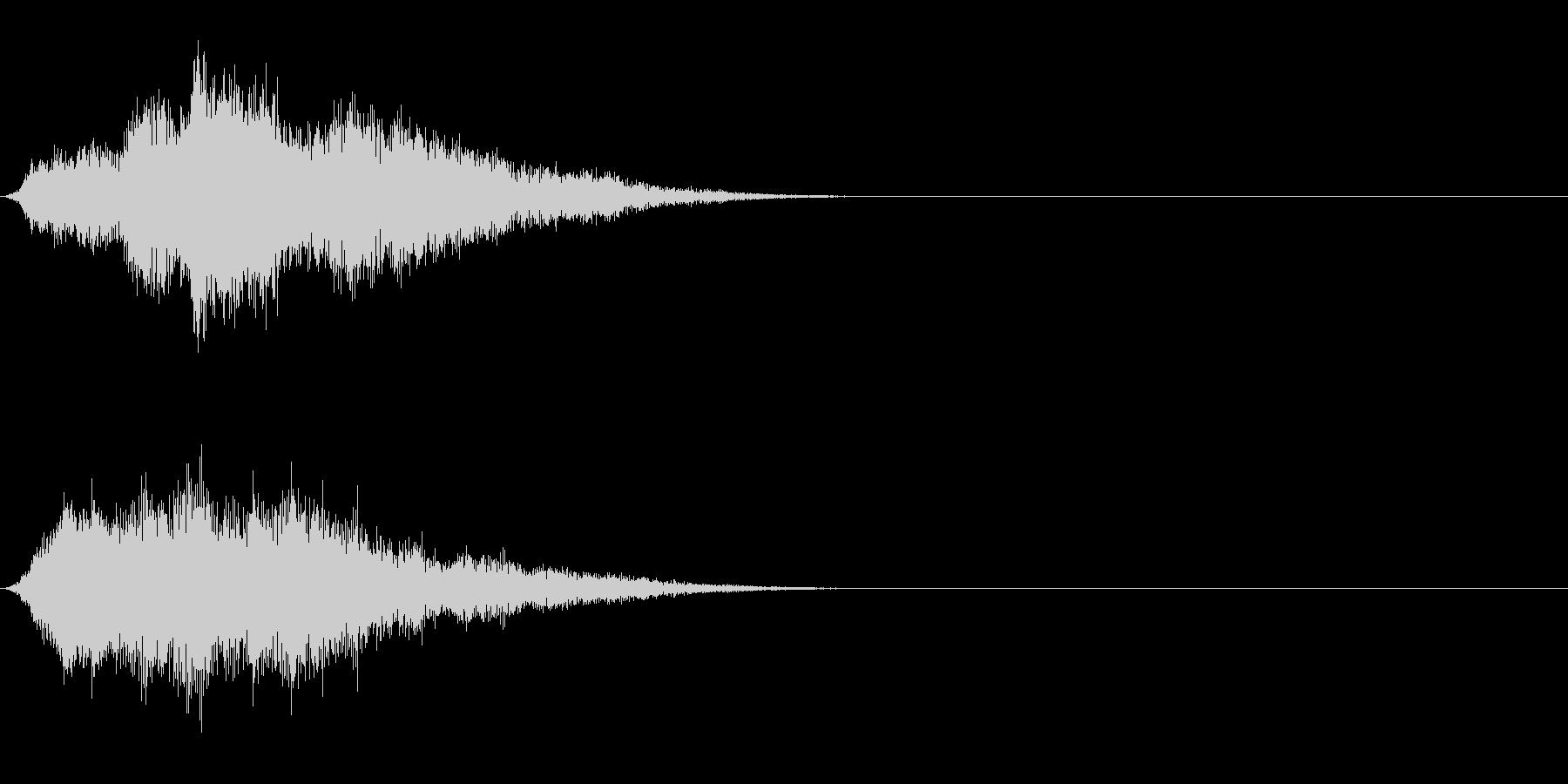 ファンファンファン (死神の登場)の未再生の波形