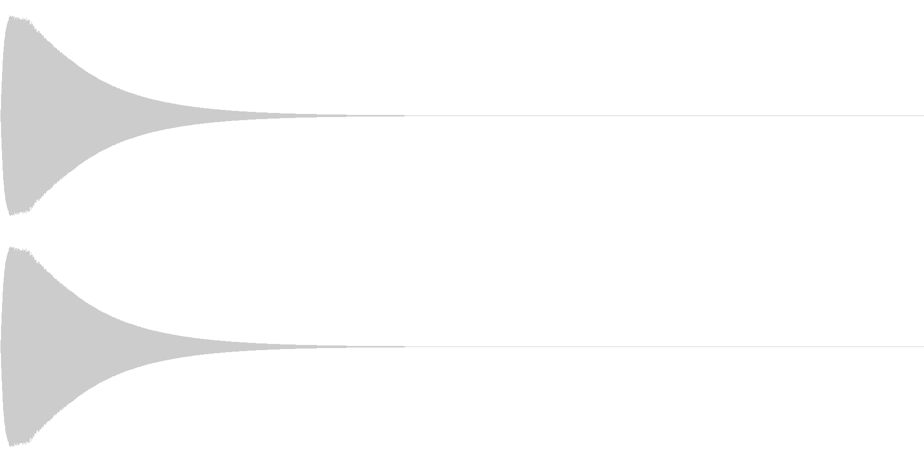 ピュインの未再生の波形
