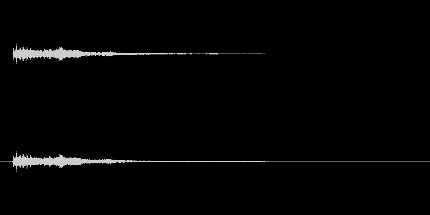 【ショートブリッジ15-6】の未再生の波形