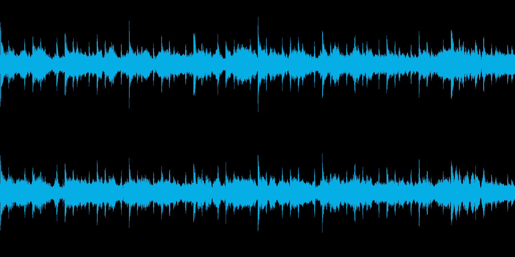 【主張しない背景音楽】穏やか3【ループ】の再生済みの波形