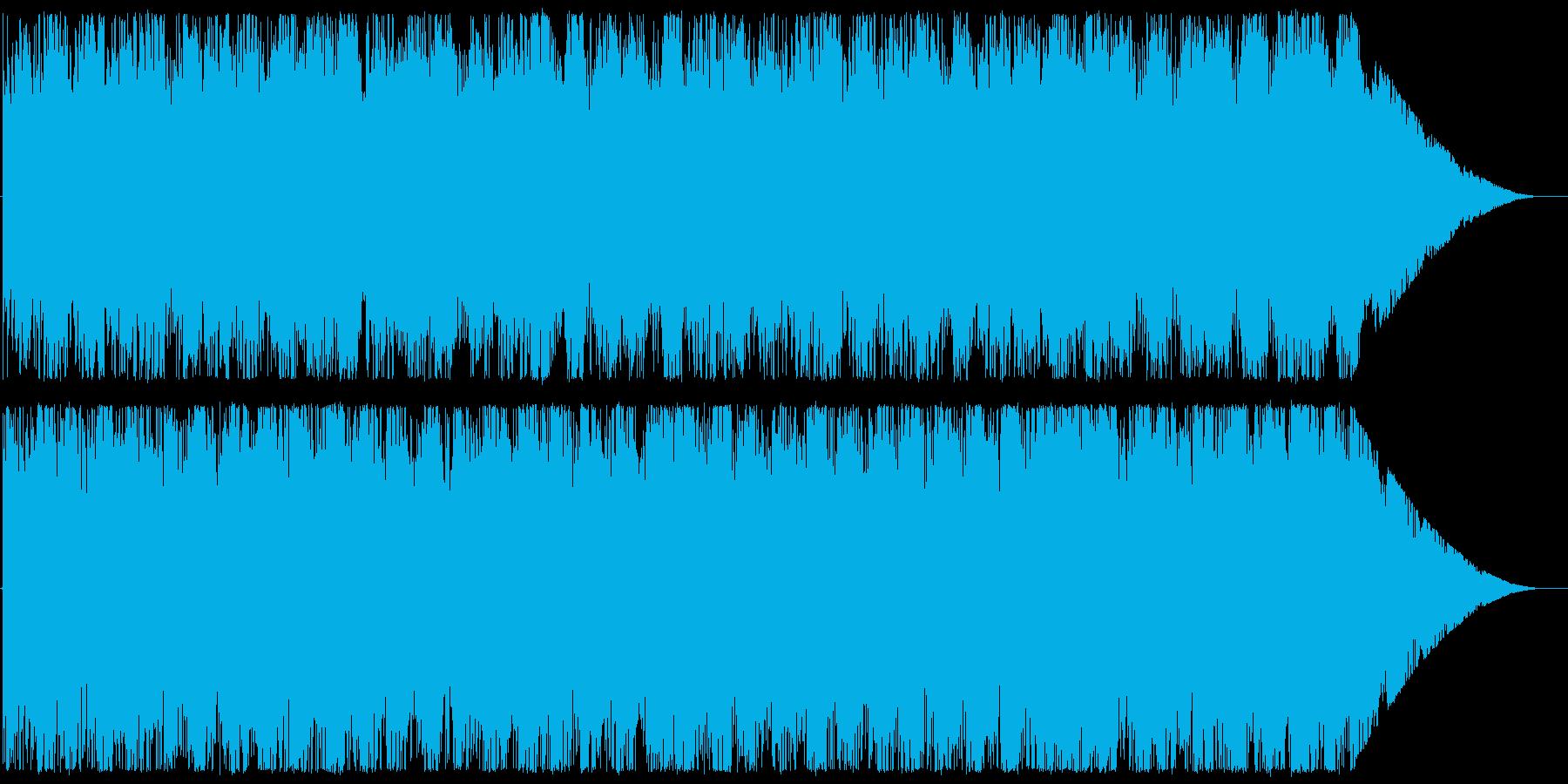 Chill/Healing系シリーズ曲7の再生済みの波形