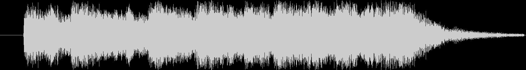 オーケストラのジングルです。の未再生の波形
