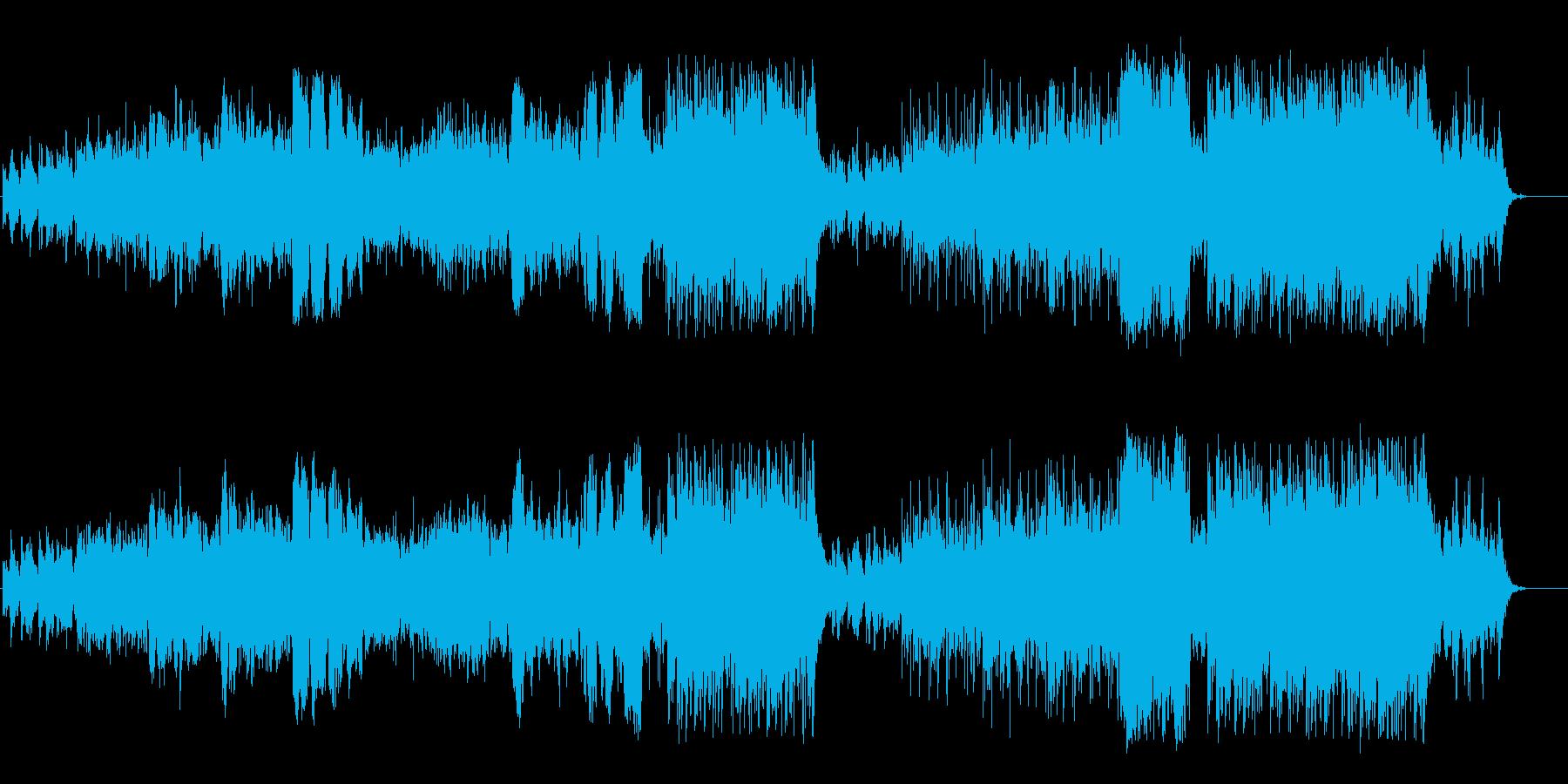不思議な力を感じる幻想的なワールド音楽の再生済みの波形