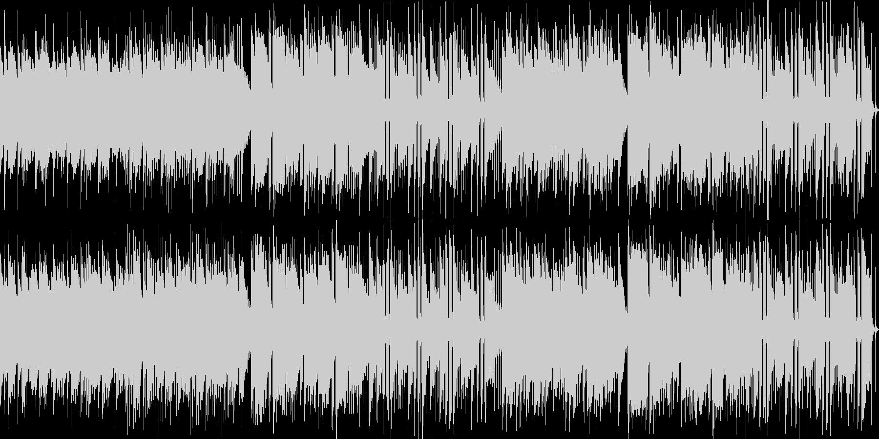 爽やかで穏やかなアコギ楽曲ループの未再生の波形