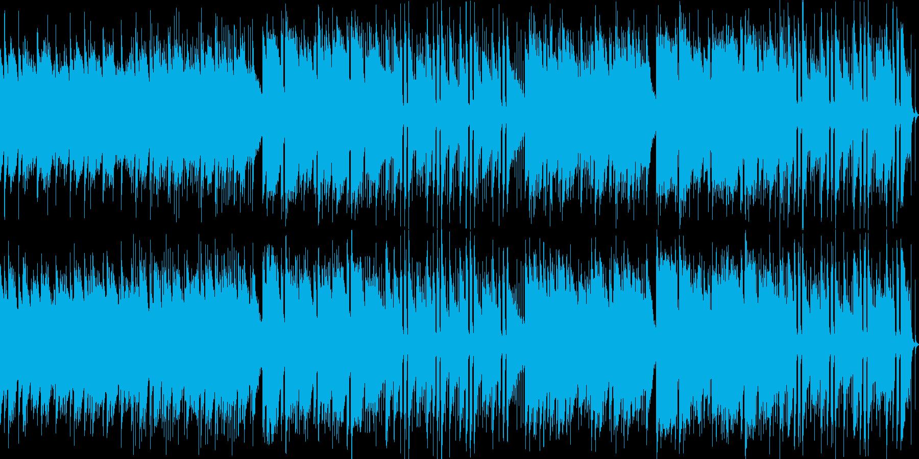爽やかで穏やかなアコギ楽曲ループの再生済みの波形