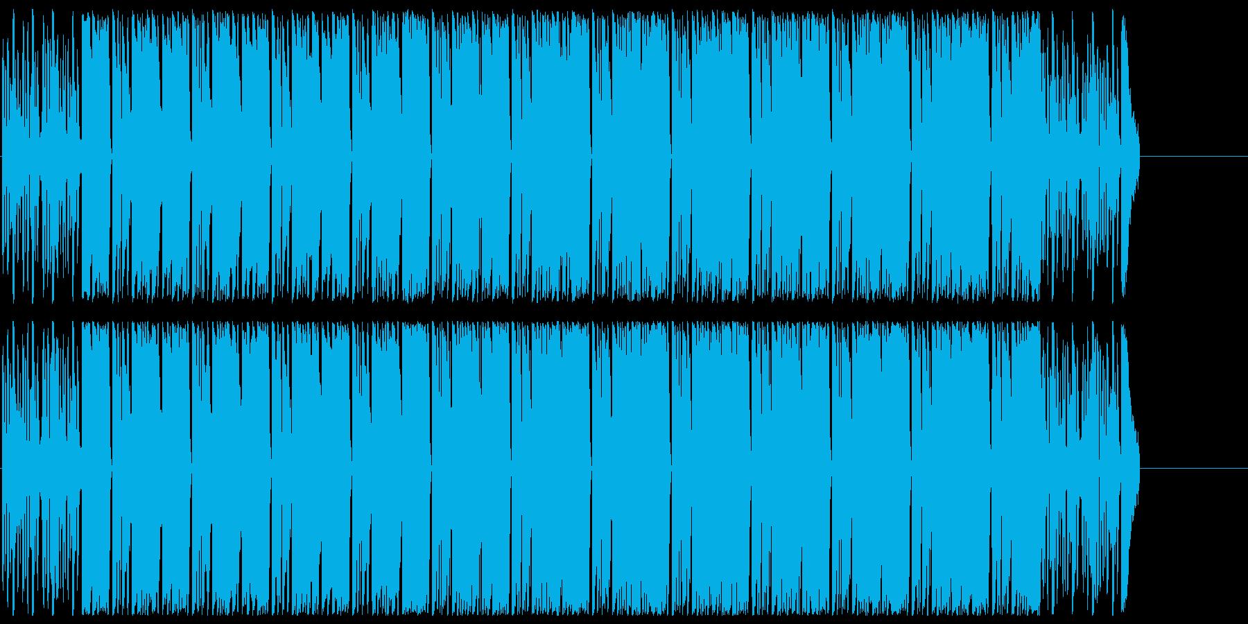 オープニング PR CM にぎやかの再生済みの波形