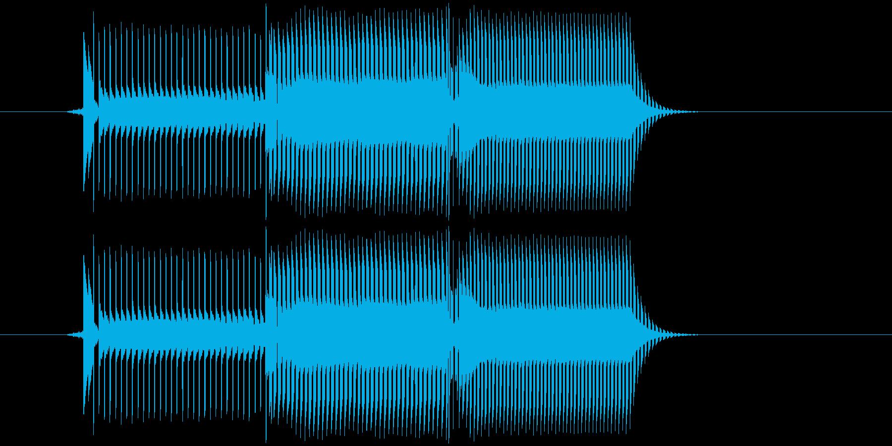 ファミコン風、8bitのキャンセルやミ…の再生済みの波形