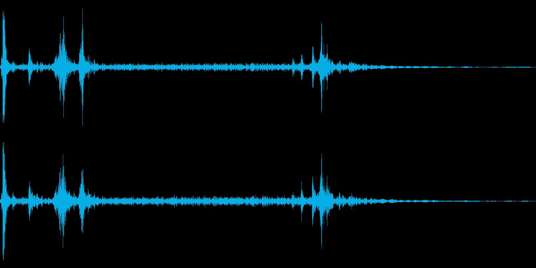 カメラのシャッター音【一眼レフ・リアル】の再生済みの波形