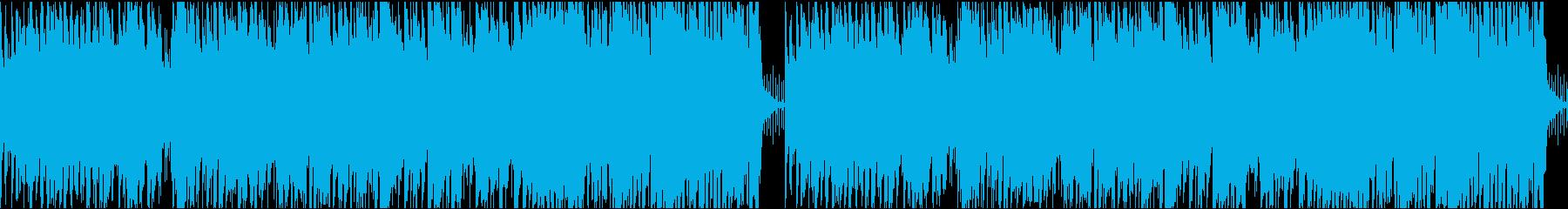 軽やかなピアノが印象的ムービー系ループ可の再生済みの波形