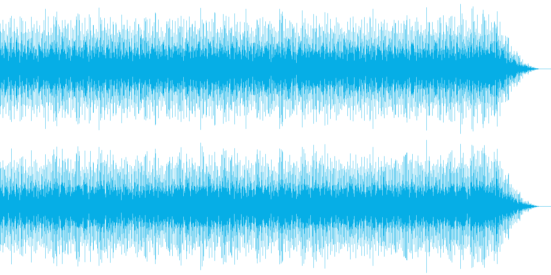 8bitクラシック-Ave Maria-の再生済みの波形