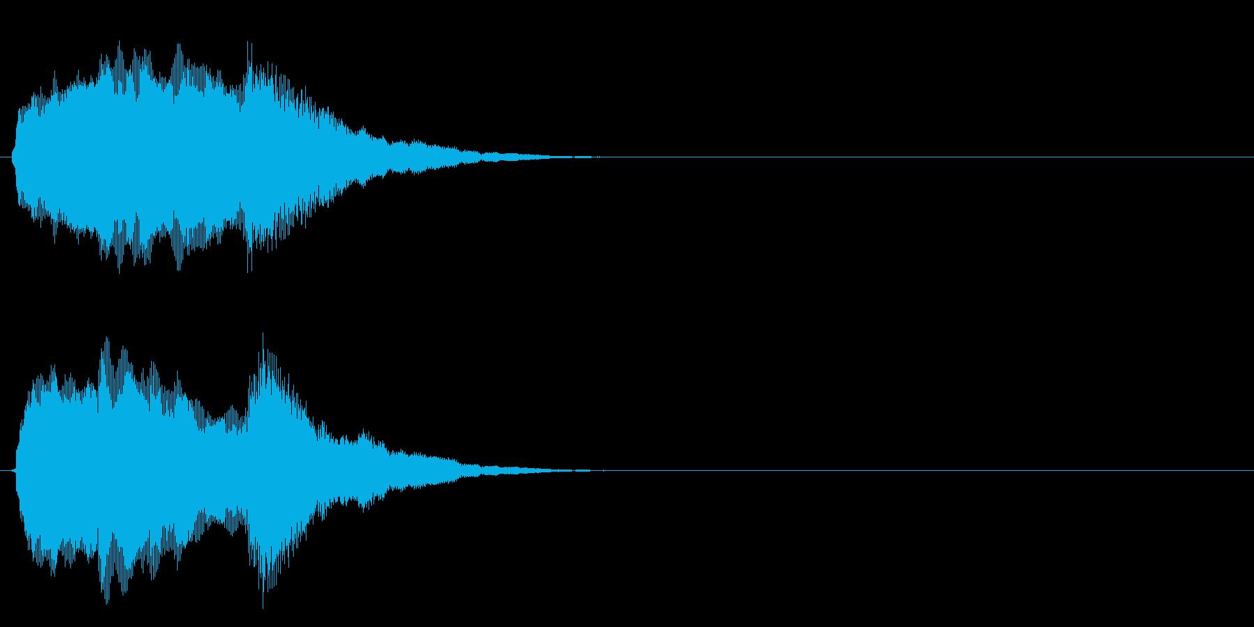 汎用 キラキラ系08(大) アイテム発見の再生済みの波形