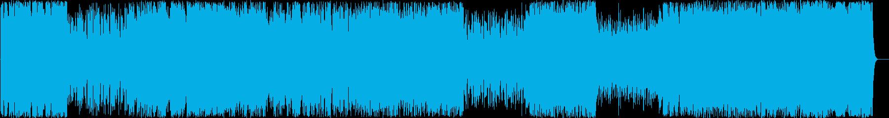 スターフォース 爽快なチップチューンの再生済みの波形