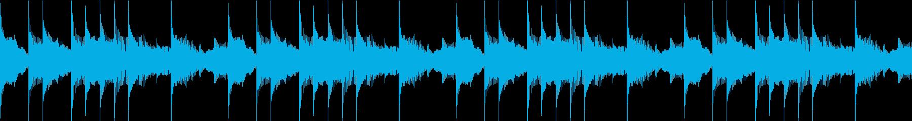 SFX 思考 推察 考える ループの再生済みの波形