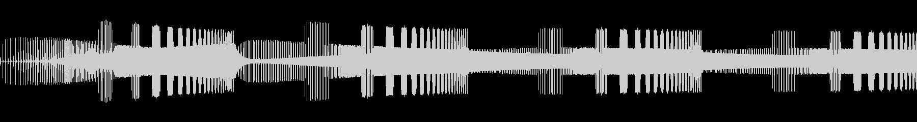 プープー(エラー/警告/アラーム/レトロの未再生の波形