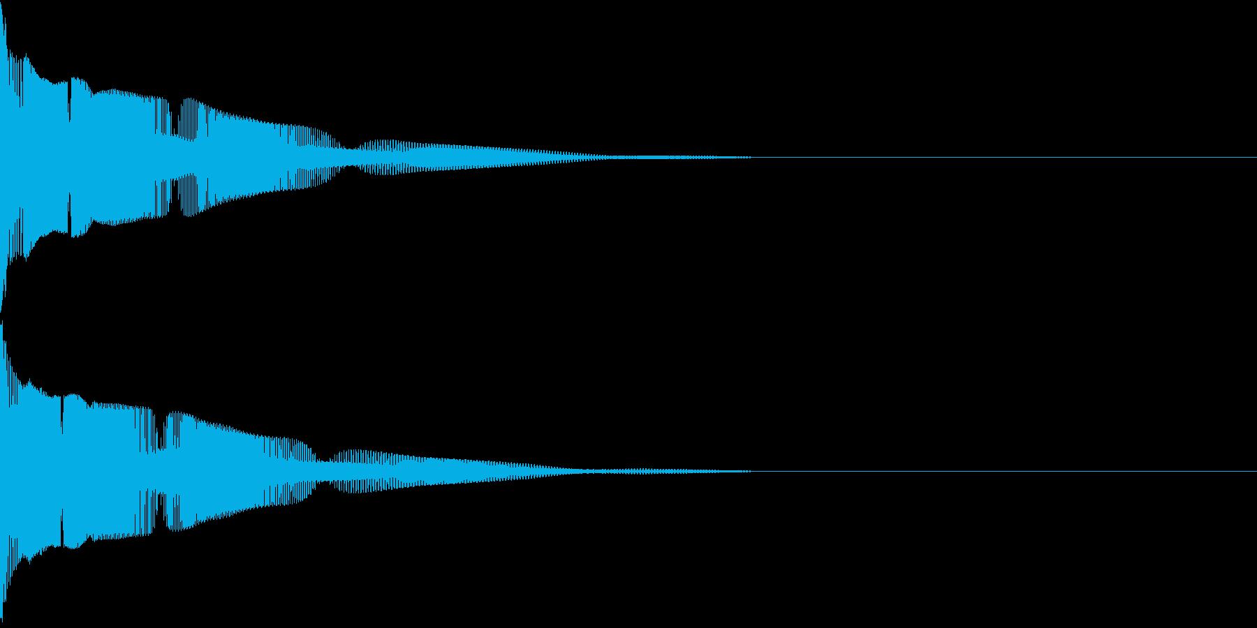 Henteko 可愛いクラッシュ音 9の再生済みの波形