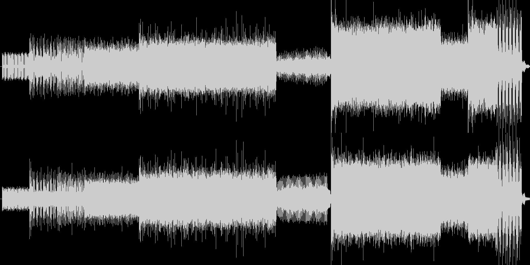 ダークでヘヴィで壮大なイメージの楽曲で…の未再生の波形