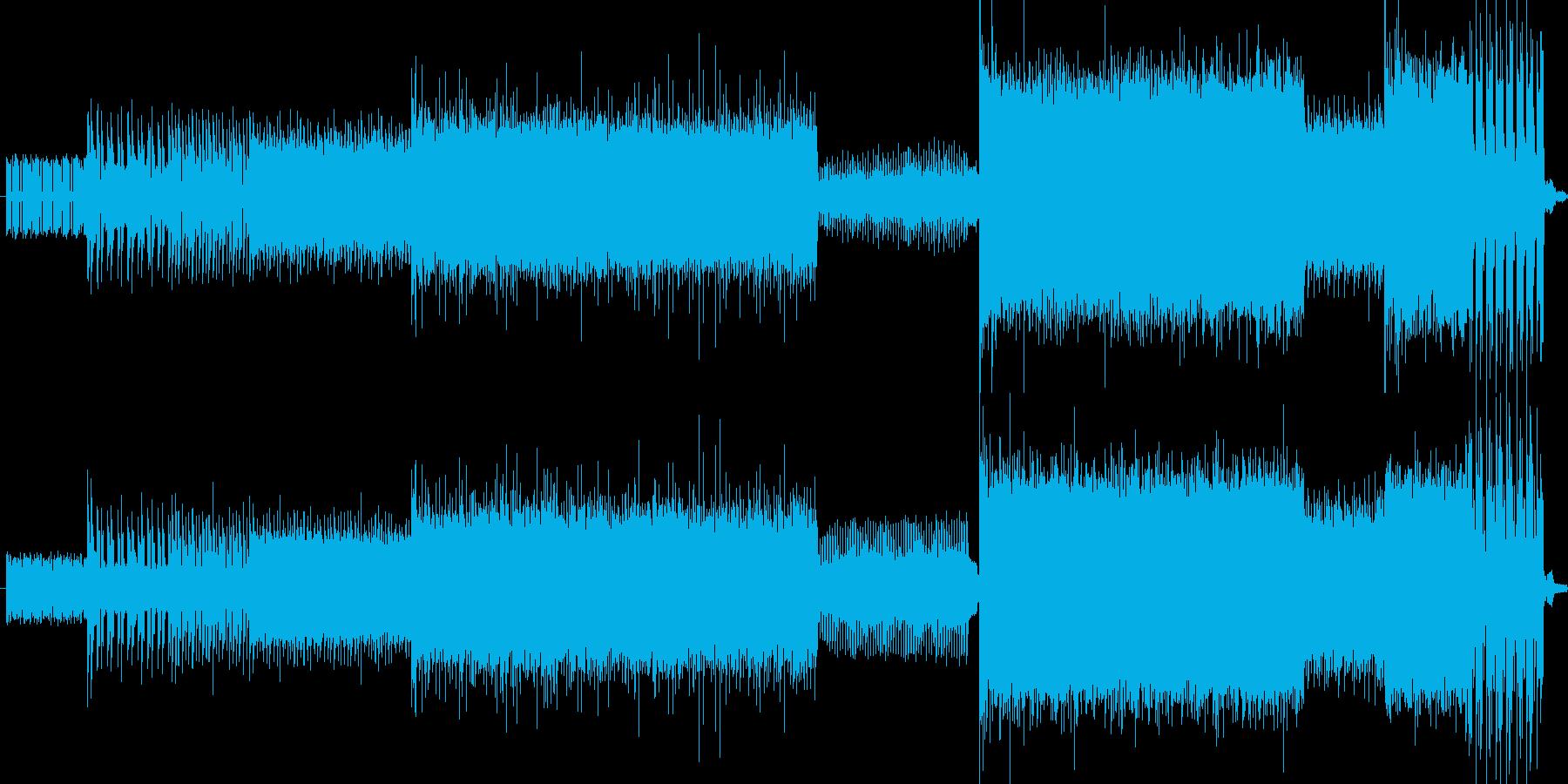 ダークでヘヴィで壮大なイメージの楽曲で…の再生済みの波形