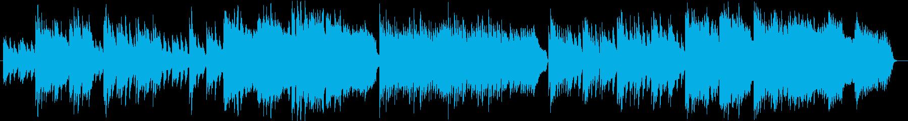 アコギ主体、穏やかな日常BGMの再生済みの波形