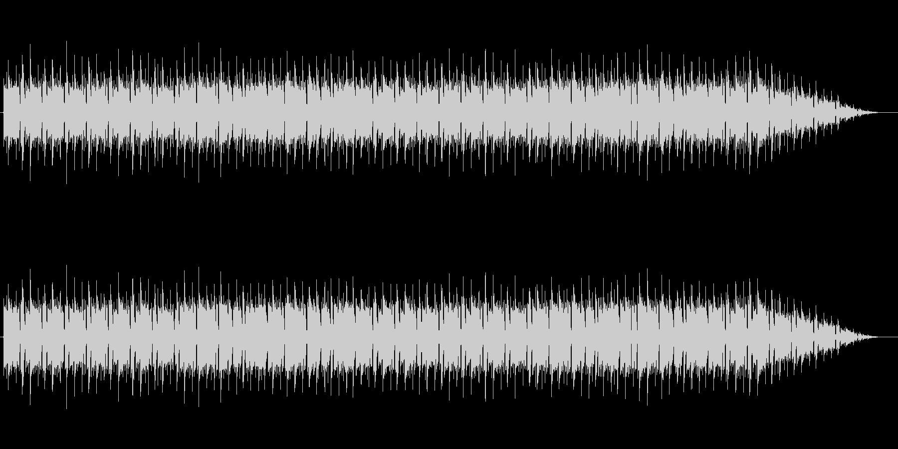 バトル チップチューン風 ローファイの未再生の波形