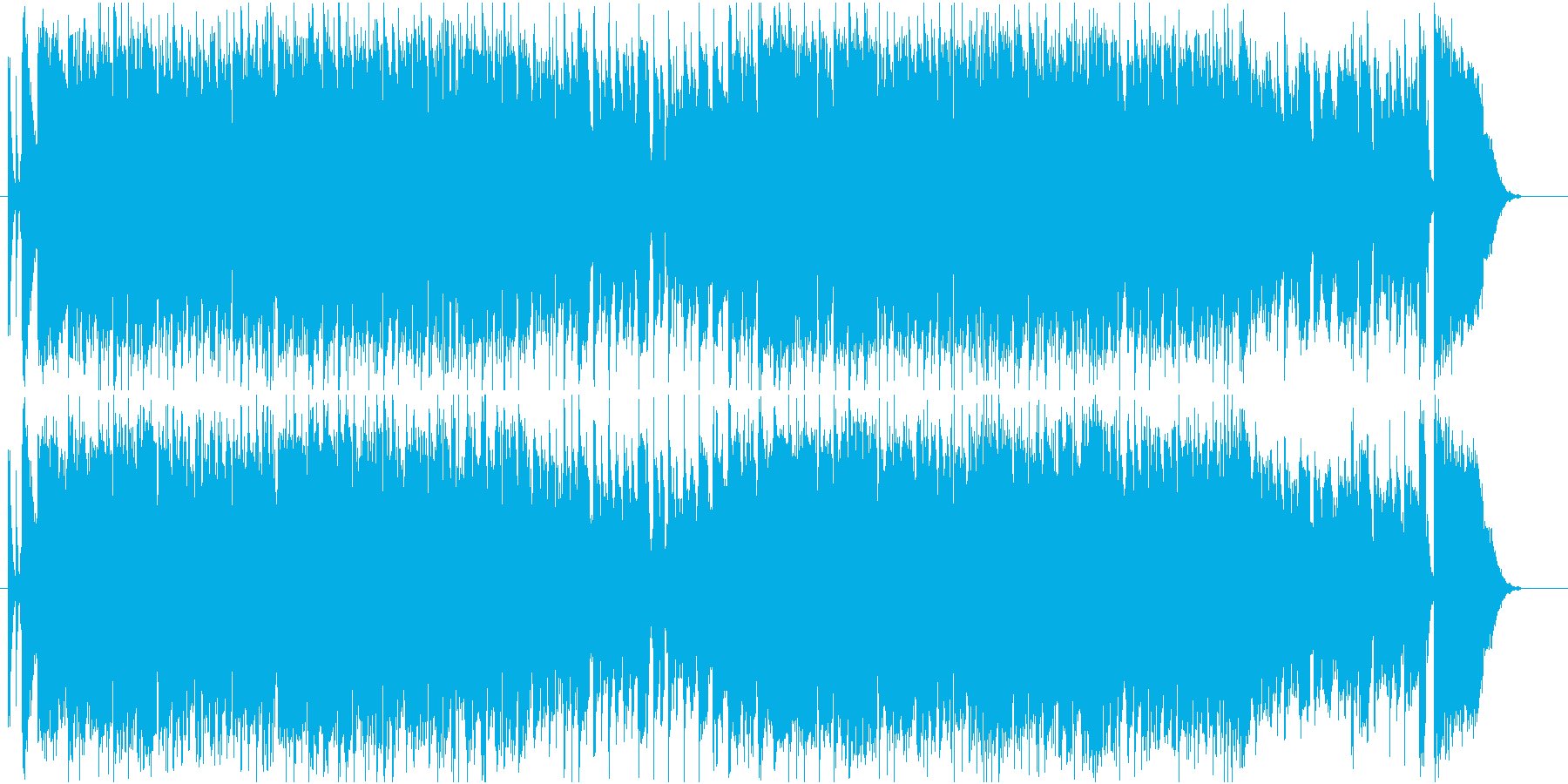 GS・昭和ロックなギターソロの再生済みの波形