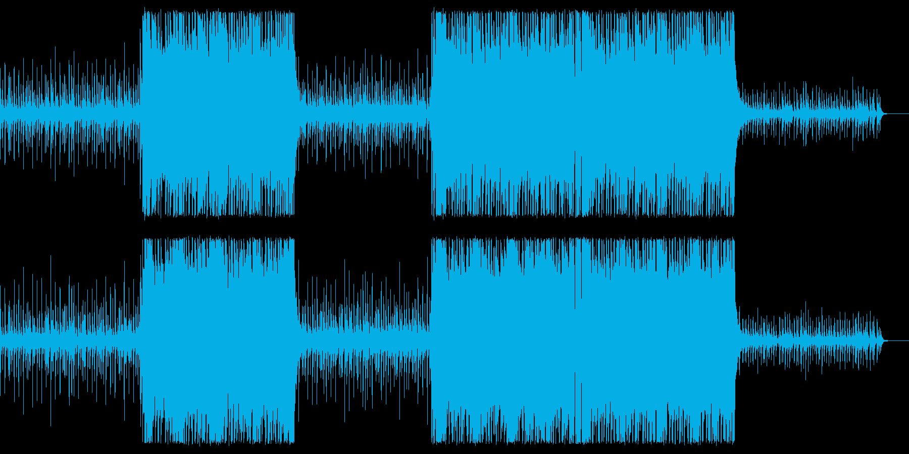 【メロディ抜き】シンプルかっこいいアコ…の再生済みの波形