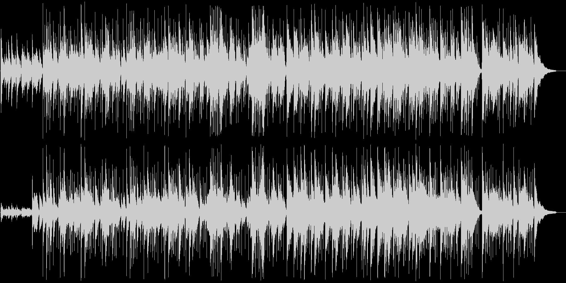 夢心地なガットギターポップスの未再生の波形