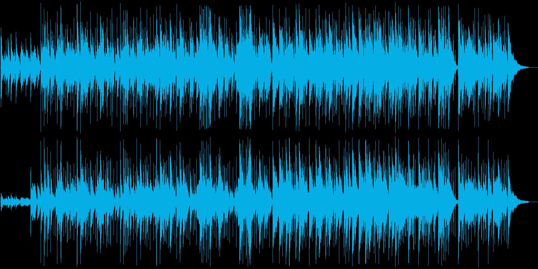 夢心地なガットギターポップスの再生済みの波形