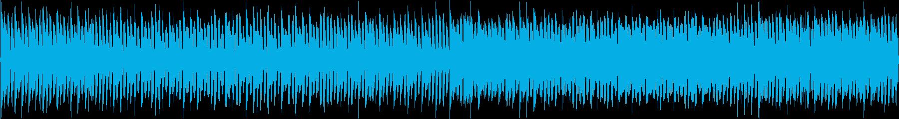 クイズ_シリアス_エレクトロ_ループの再生済みの波形