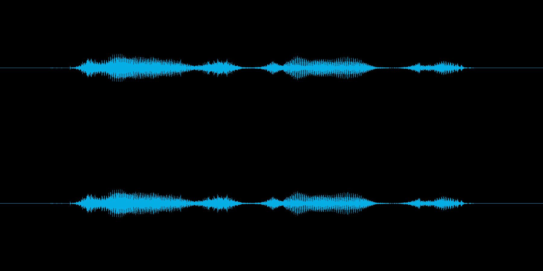 【日】17日の再生済みの波形