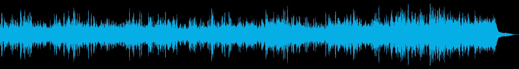 宇宙的な牧歌2の再生済みの波形