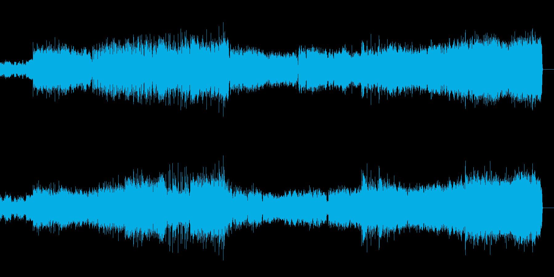 吹奏楽のための第一組曲より第一楽章の再生済みの波形