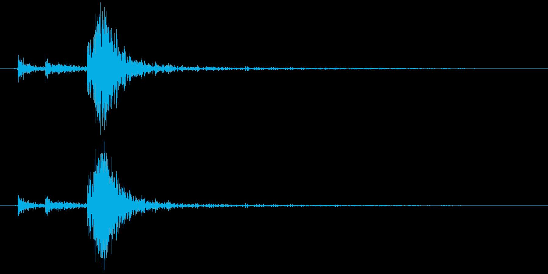 ポスト(入れる、開ける、閉める) カタッの再生済みの波形