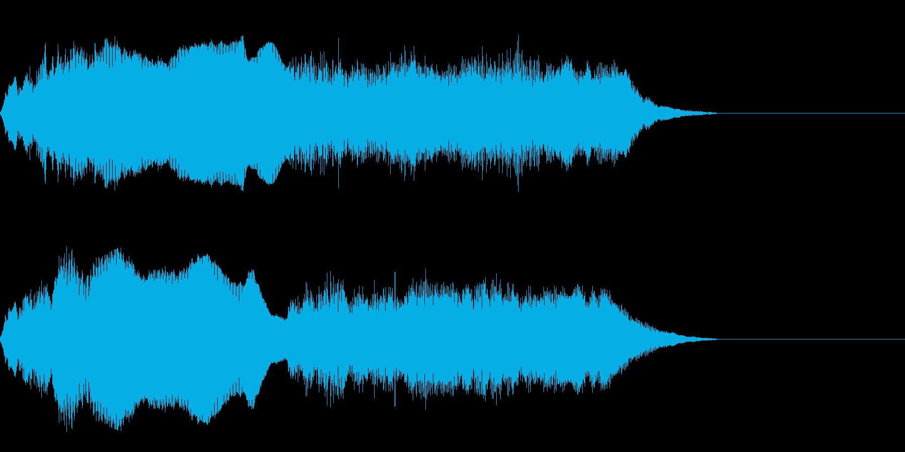 運命2タララーンの再生済みの波形