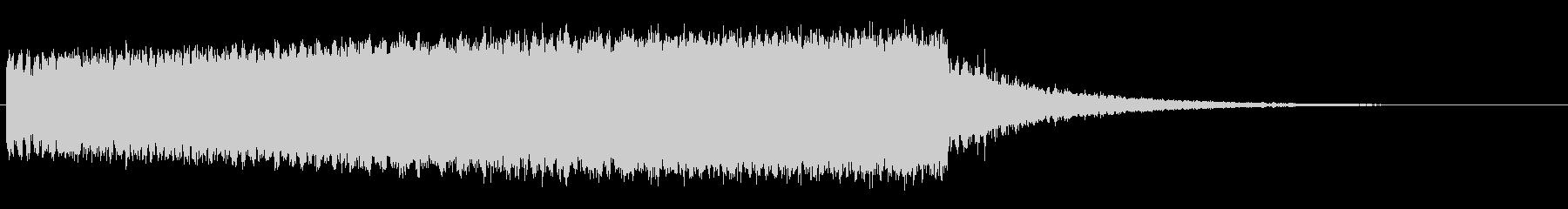 効果音_落下音の未再生の波形