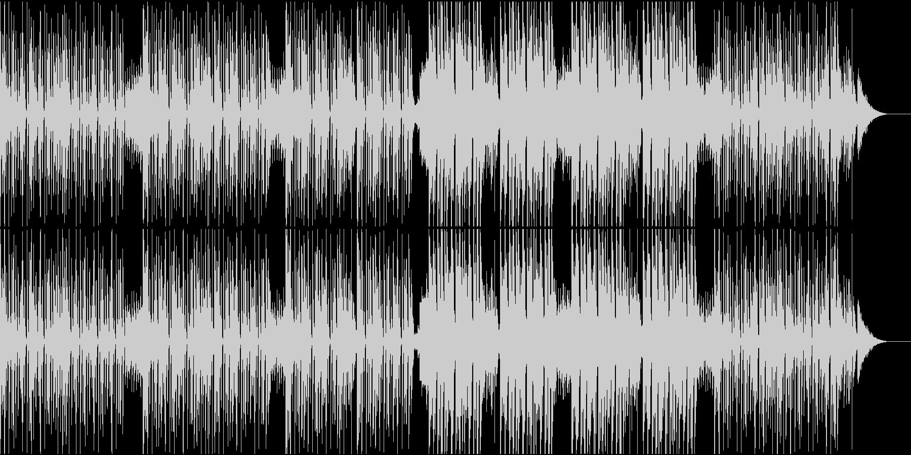 リズミカルでお洒落なダンス曲/EDMの未再生の波形