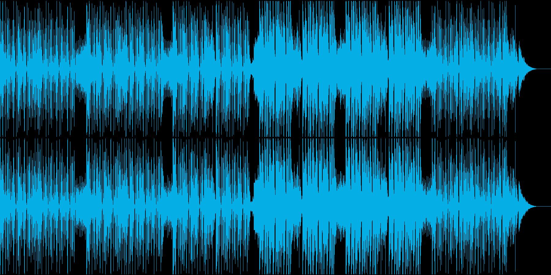 リズミカルでお洒落なダンス曲/EDMの再生済みの波形