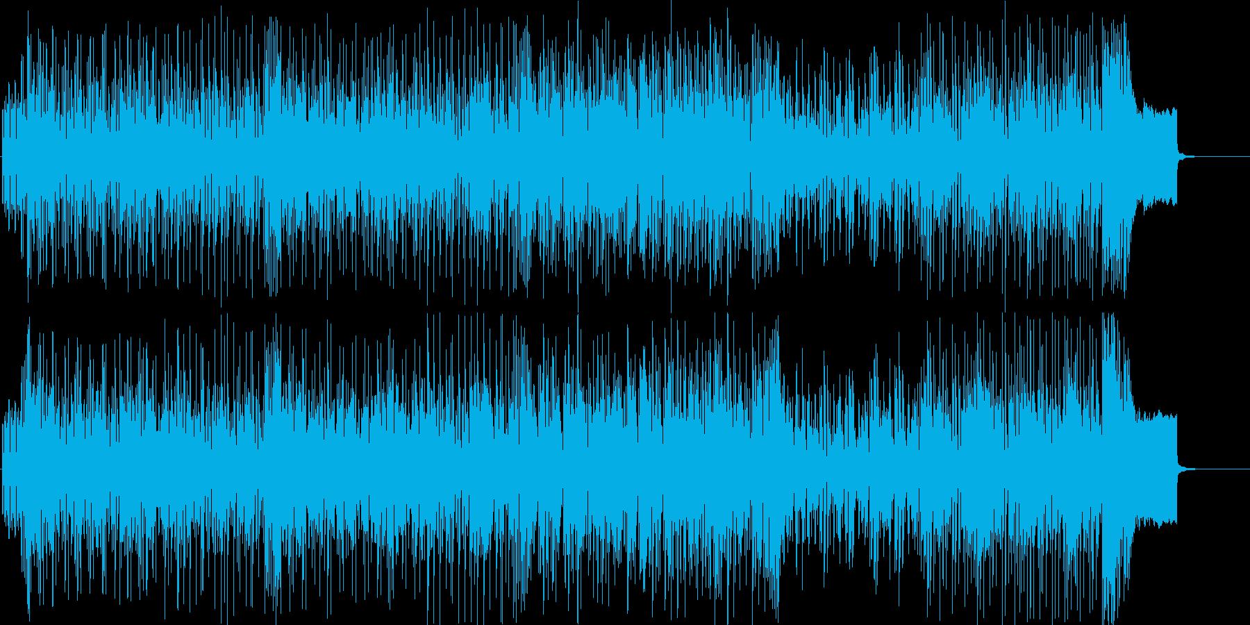 軽快 情報 スピード スポーツ ドライブの再生済みの波形