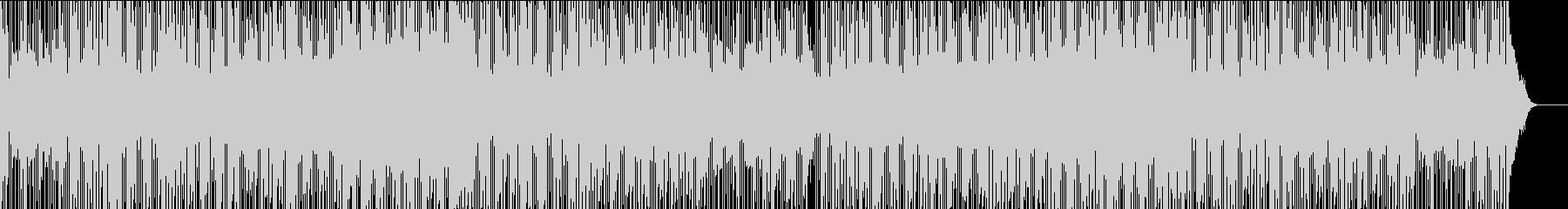 アシッドジャズ風の落ち着いたBGMの未再生の波形