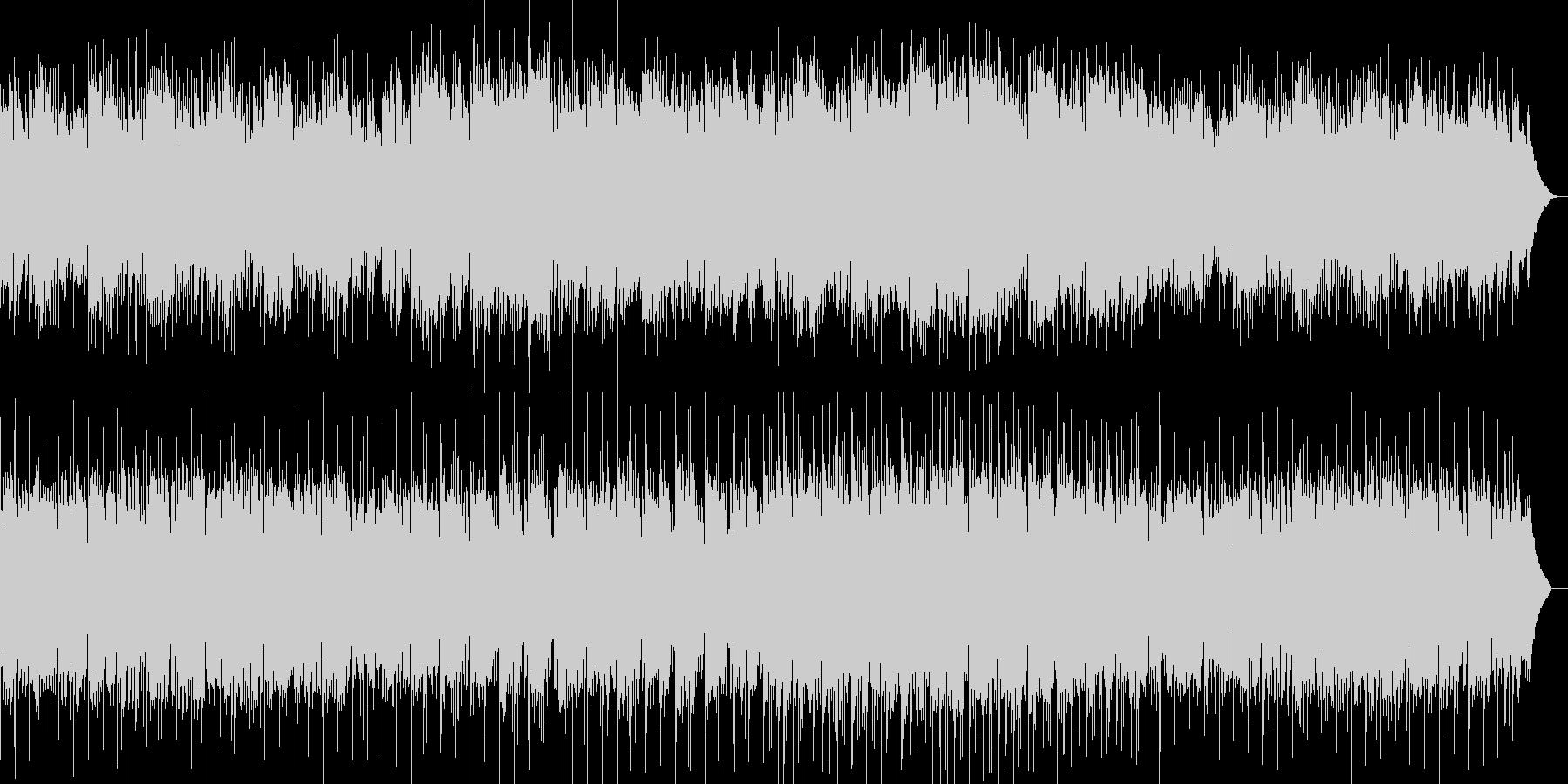 川の流れをイメージしたヒーリング音楽の未再生の波形