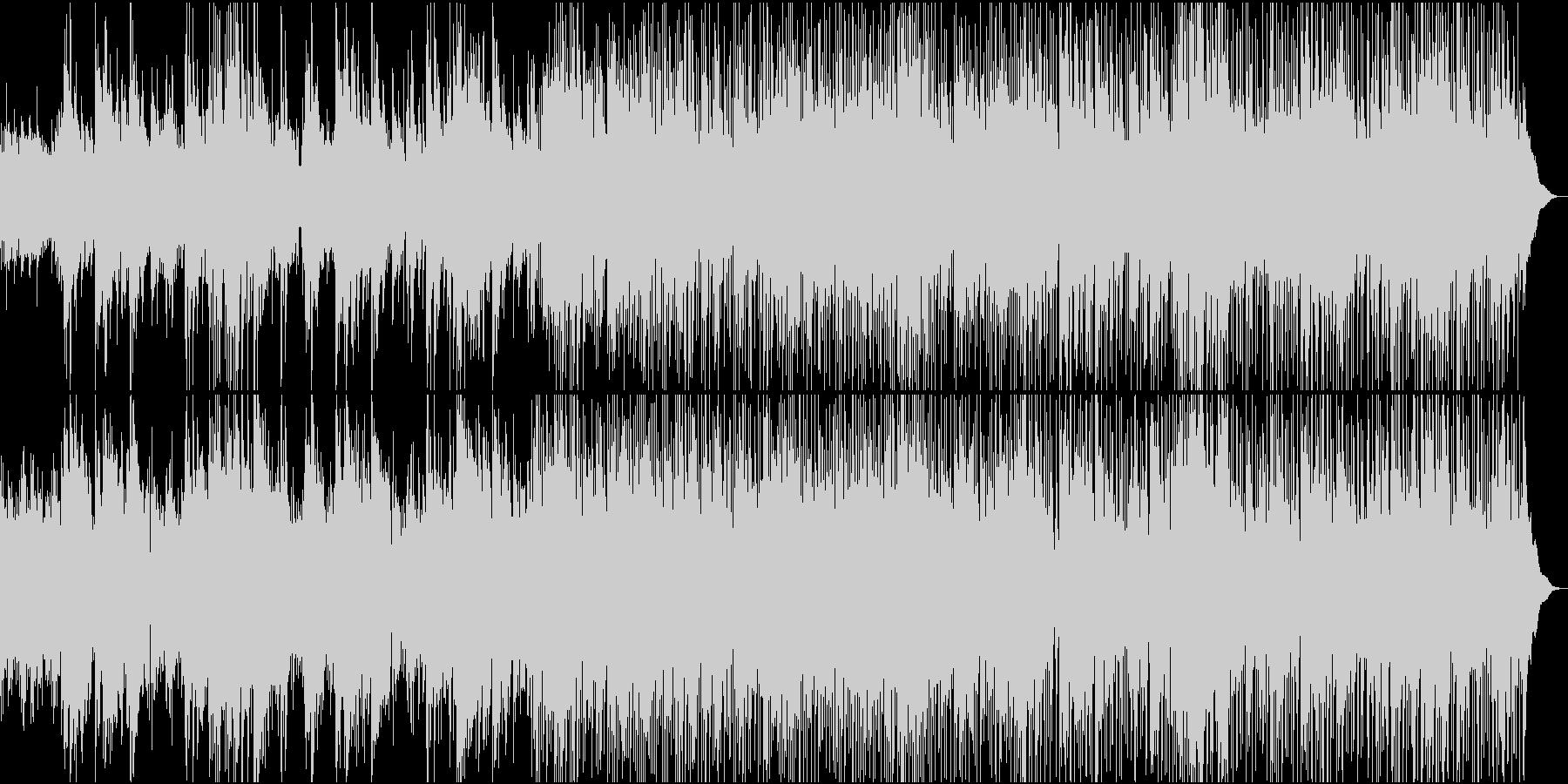 アコースティックギターのしっとりチューンの未再生の波形