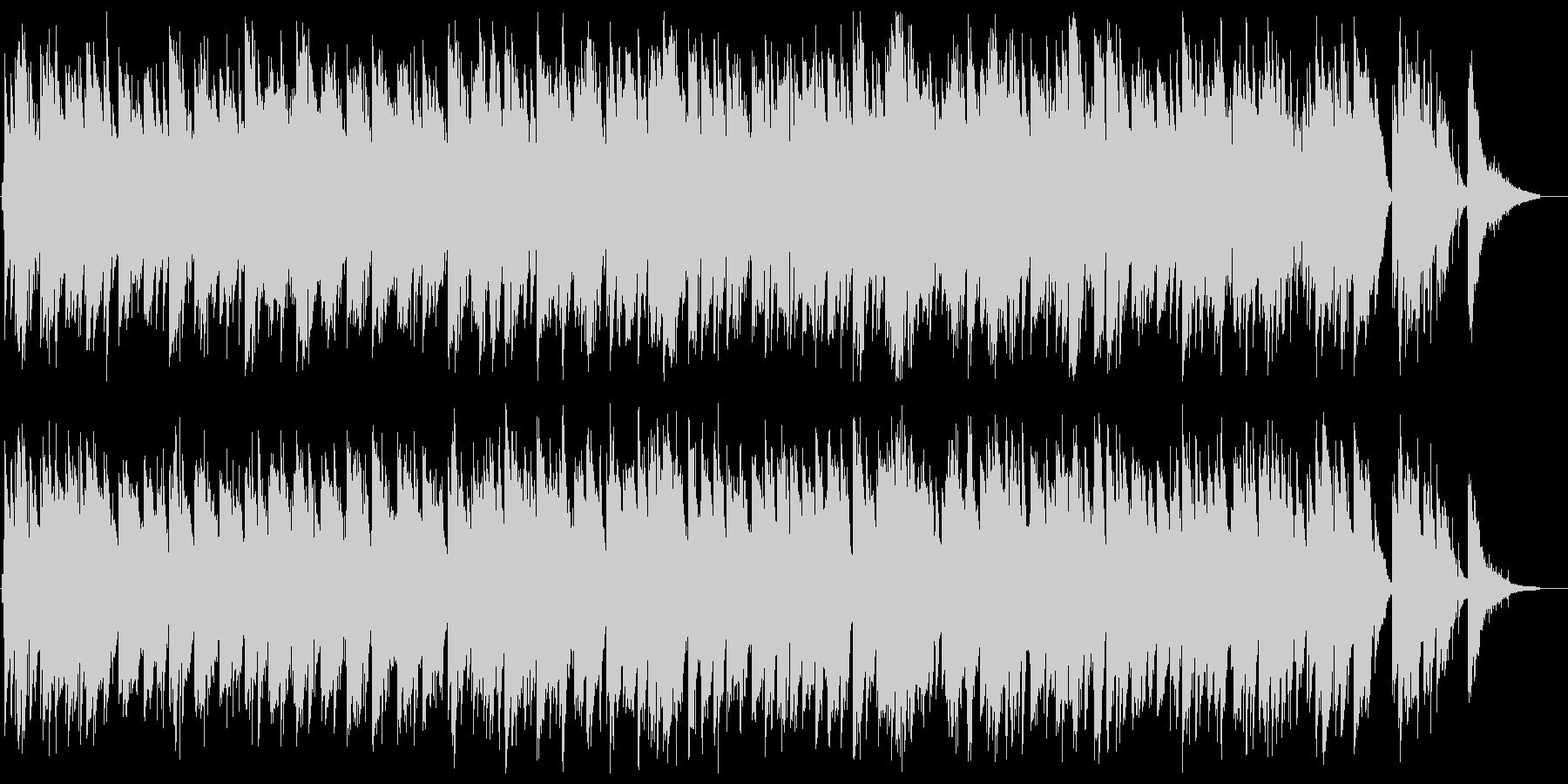 ゆったりリゾート感ギター弦楽器サウンドの未再生の波形