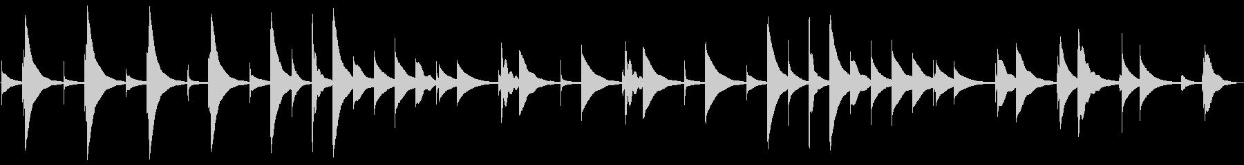 【オルゴール】ジムノぺディ/ループokの未再生の波形