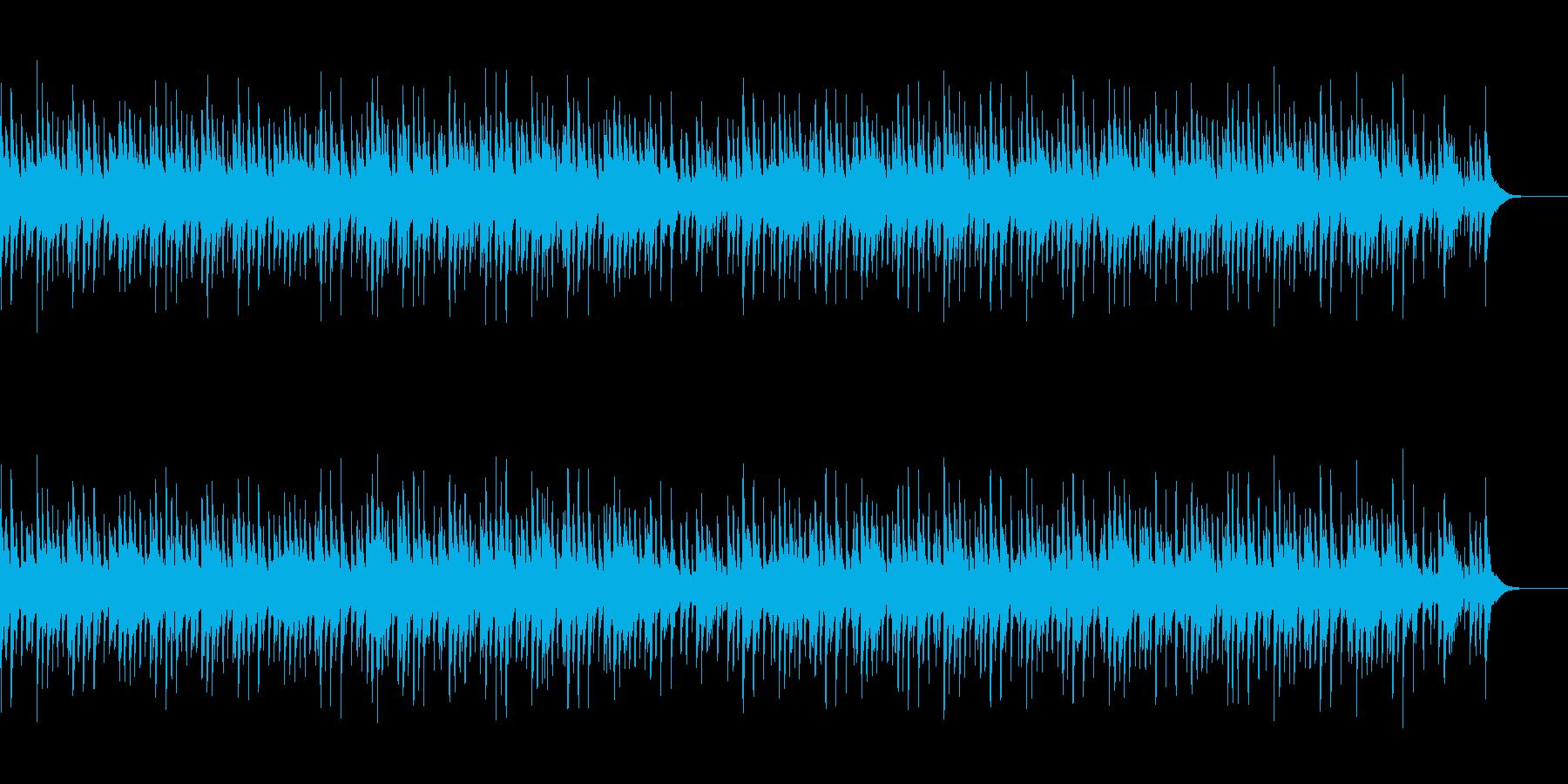 和風三味線の再生済みの波形