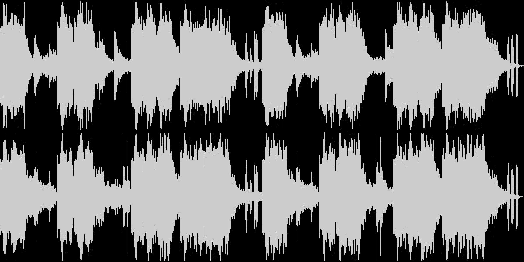 Future/Pop/Retroの未再生の波形
