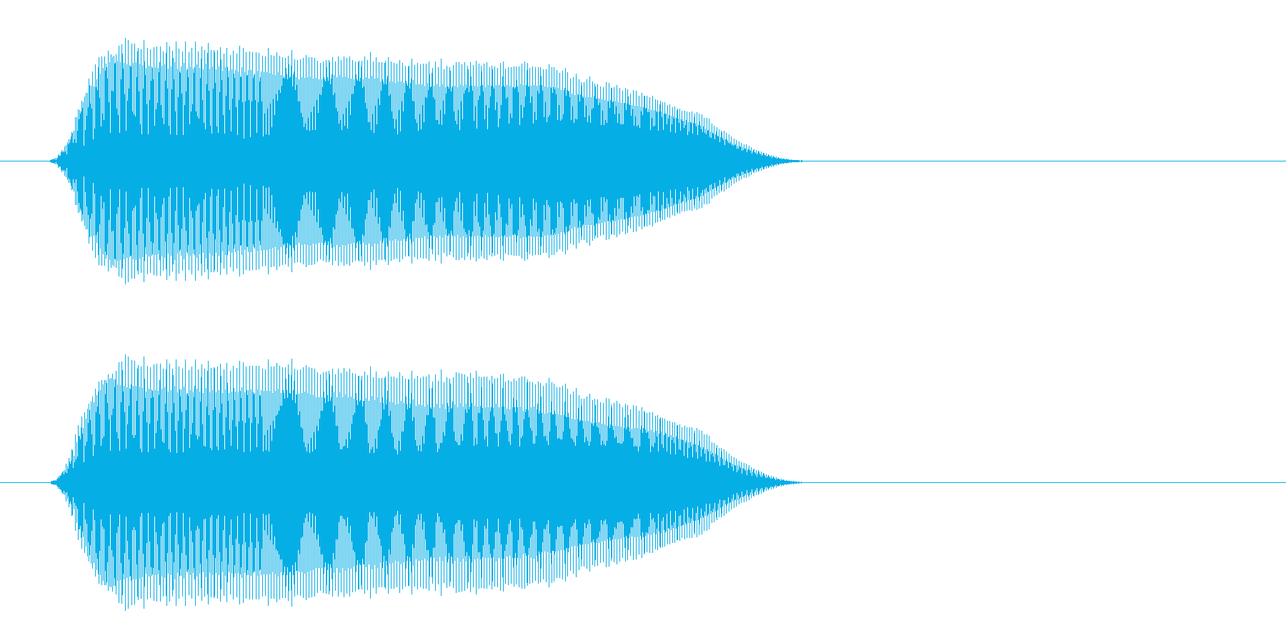 ピリッ(ピコピコ感溢れるジャンプ音)の再生済みの波形