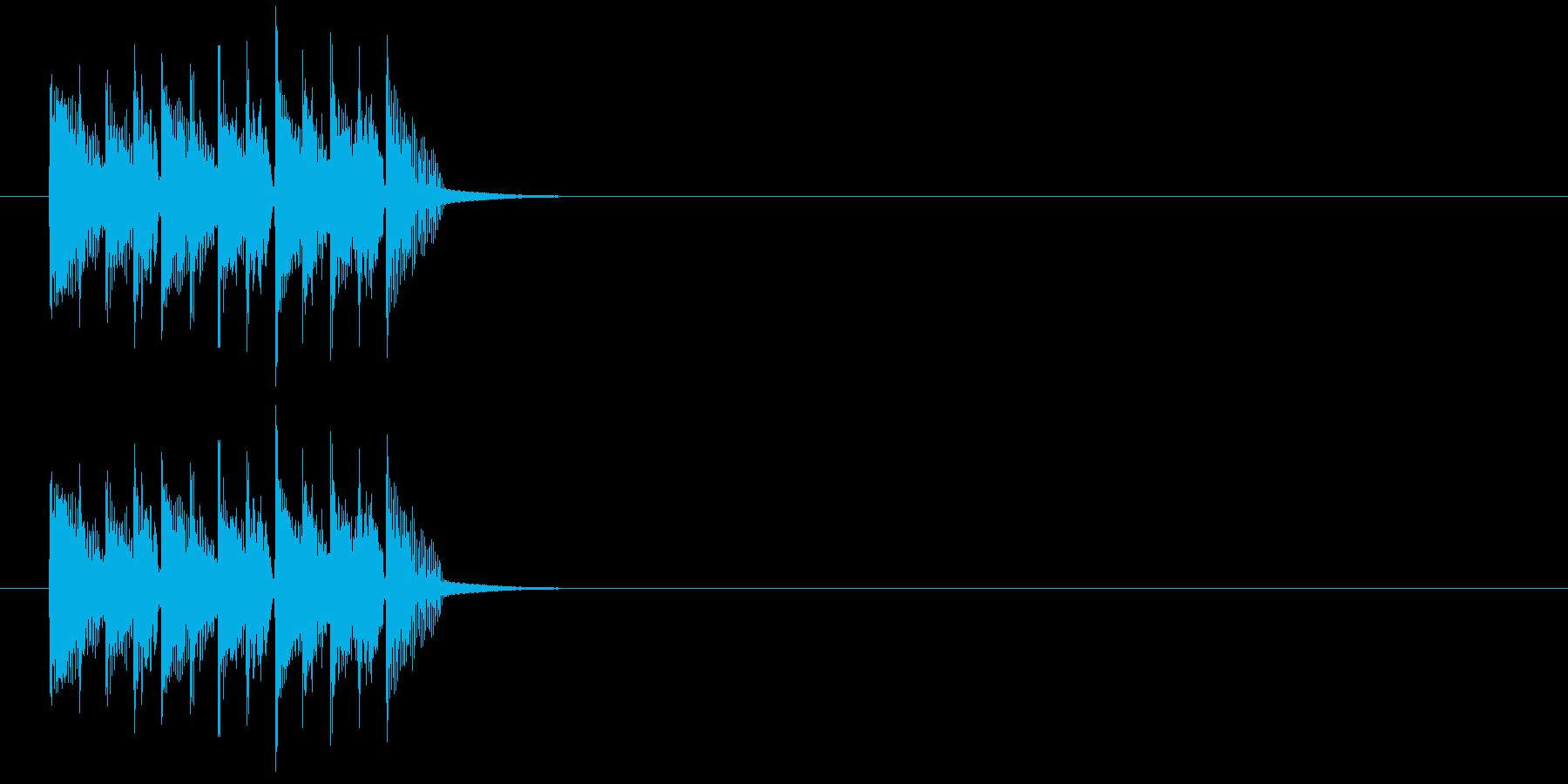 コミカル クイズ 場面転換 子供 ペットの再生済みの波形