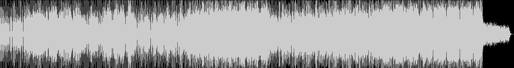 踊り出す様なファンクとエレクトロの融合の未再生の波形