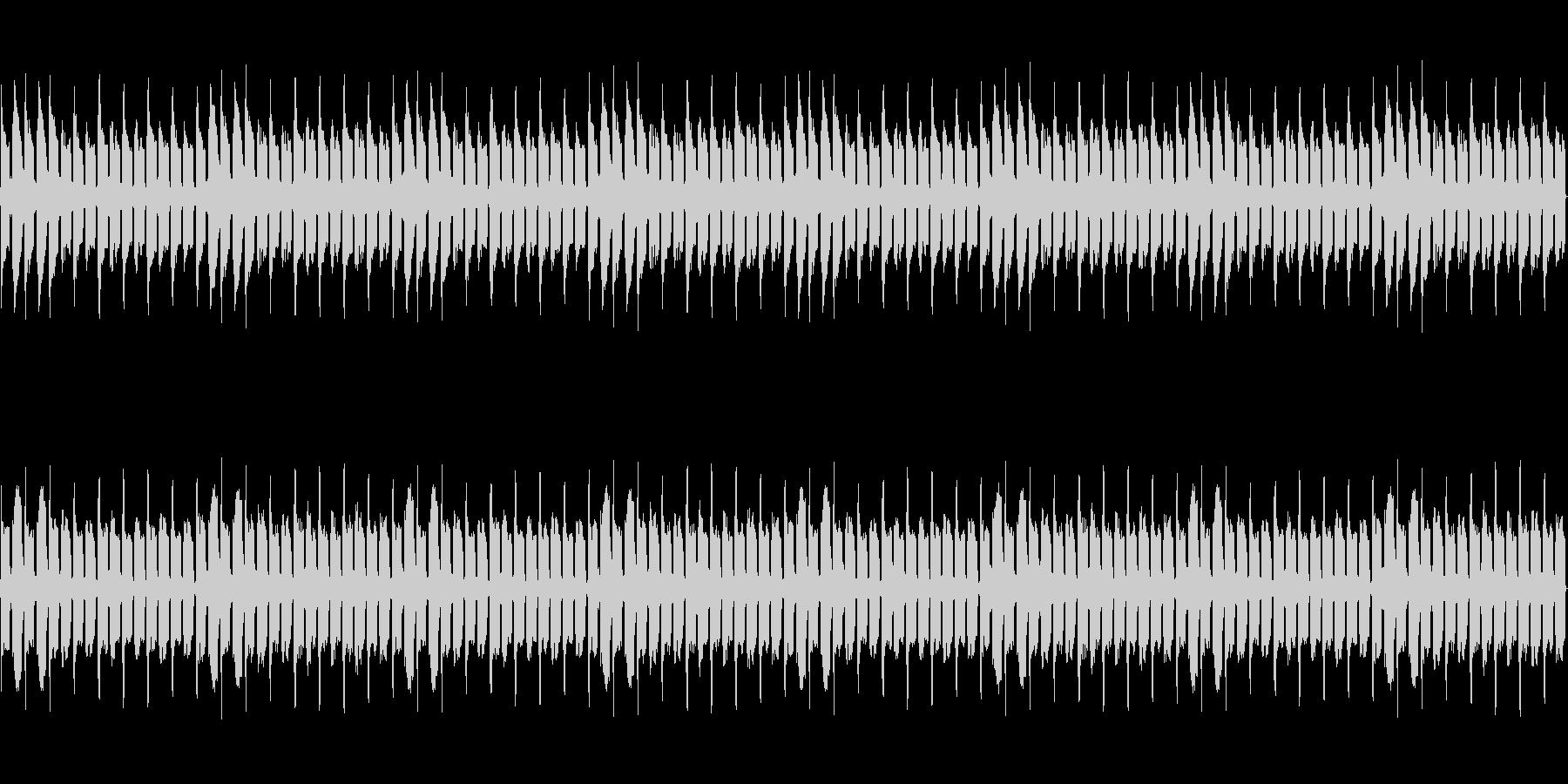 暗いレトロ風BGM【ループ】の未再生の波形